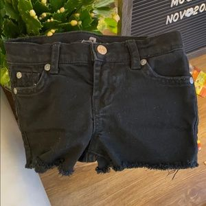 7 for all mankind kids shorts